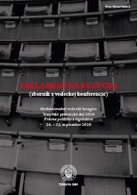 Zborník je výstupom z medzinárodnej vedeckej konferencie Parlamentná kultúra v rámci online medzinárodného vedeckého kongresu Trnavské právnické dni - Právna politika a legislatíva, ktorá sa konala 24. - 25. septembra 2020 v Trnave. Podujatie bolo organizované v rámci riešenia projektu APVV-17-0056 s názvom Ústava liberálno-demokratického štátu a radikalizácia politickej kultúry.